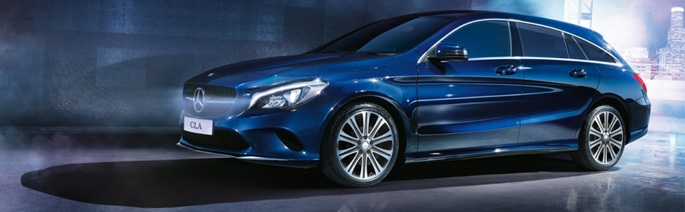 The all new CLA Shooting Brake